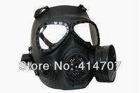 Bio-hazard CS Game Mask M04 Gas Mask Style Mask w/ Fan Black (M04-MK-BK) 3 colors D0147