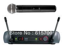UHF PGX24/SM 58 UHF DJ Karaoke Wireless Handheld Vocal PGX2 PGX4 Microphone