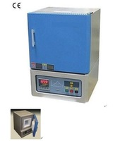 "1750C Bench-Top Muffle Furnace (6""*6""*6"".6L) with UL recognized Components & Kathal Super-1800 Heating Elements - KSL-1700X-UL"