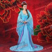 Costume clothes female clothes costume blue