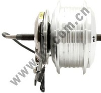 OR01A3 36V 235rpm 118 Front Roller-Brake Mini Brushless Halless DC Motor with 3-Pin Water-proof Wire/Cable CE/EN15194 E-bike