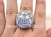 Free shipping replica 2011 New York Giants Super Bowl XLVI World Championship Ring