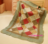 Bedding patchwork cotton quilting 100% by air conditioning single sheet bed cover summer is cool