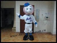 The head of Mr Met mascot costume,custom head of mascot costumes