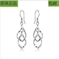 Double tassel long earrings design all-match earring female drop earring