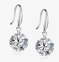 New arrival hearts and arrows zircon rhinestone earrings female gift fashion earrings