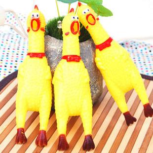 free shipping free shipping Birch pet toy saidsgroupsdirector decompression toys chicken screaming chicken shrieking chicken(China (Mainland))