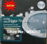 1PC Free Shipping  1LED Solar Deck light/Solar Ground Light