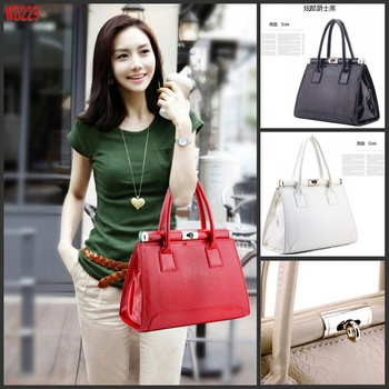 Free Shipping2013 new handbags handbag handle bag retro classic crocodile pattern packageWB229