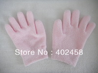 Wholesale SPA feather chenille Gel Moisturizing  essential oil glove/hand care productFree Shipping