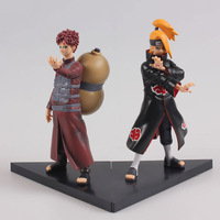 Gaara and Deidara 17cm 2pcs new NARUTO figure Japan Cartoon 2pcs/set Naruto doll FREE SHIPPING