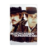 Butch Cassidy and the Sundance Kid Retro tin signs 11.8'' X 7.87''   YZ-36