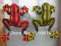 Free Shipping Wholesale 20Pcs/Lot 2 Colors Flying Frog Stuffed Plush Glass Sucker Toys Dolls Gifts Car Home Decor Toys 1 Pcs