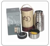 Snell stainless steel roast stew pot insulation pot vacuum pot portable water bottle travel pot