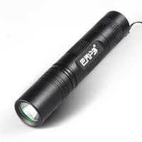 Bacjo s5 outdoor mini flashlight cree led glare q5 charge