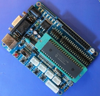 New Pic minimum system board pic16f877a development board pic board