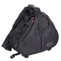 Caden K1 Waterproof Messenger Shoulder Camera Bag Video Portable diagonal Triangle Carry Case Black