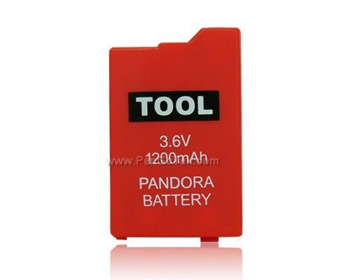 Free Shipping Pandora Battery Pack For PSP2000 Red(China (Mainland))