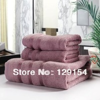 Bamboo fiber towels, bath towels Size 3 sets
