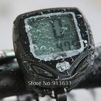 In Stock New Waterproof Multifunction Bicycle Wireless Odometer Bike Digital Electric Speedometer MTB Cycle MeterGood Quality