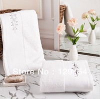 New thick cotton towel cotton wash towel platinum embroidery 33x75cm