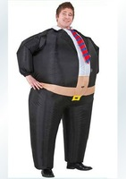 Halloween costume big boss Inflatable Belly Buster Mens Costume  one size