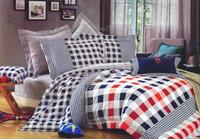 British style sports 100% cotton bedding trend piece set bedding 220 240 100% cotton