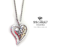 2014 Hot Sale Necklaces Jewelry Free Shipping 99 Fashion Accessories Sumni Sparkling Heart Design Short Necklace Il