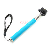 CAM REPUBLIC -  EXTENDABLE SELF-PORTRAIT HANDHELD TELESCOPIC MONOPOD for DC camera S110,ZR1000, light DV ! Free Shippment