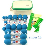 HACI Magnetic Acupressure Suction Cup Sliver 18Needles,HACI MASC Manipulation Acupunture And Cupping Via Chinapost