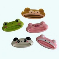 Lovely Animal Easy Press Dispenser Squeeze Toothpaste Gadget Bathroom Daily