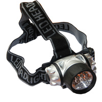 The wild outdoor headlamp 14led adjust headlights night light outdoor products