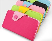 LEATHER CASE FOR FLY IQ441 COLORFULL FLIP PU LEATHER CASE POUCH COVER FITS Gionee GN700W GN700T FREE SHIPPING