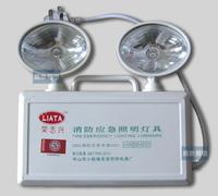Isointernational double slider lighting lamp led fire emergency light box universal head