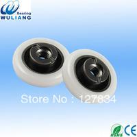 Convex groove Shower door roller shower door sliding plastic pulley wheel bearings 605RS