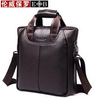 2014 Real Freeshipping Men Zipper New Arrival Man Bag Male Shoulder Men's Commercial Document Travel Package Clothing Handbags