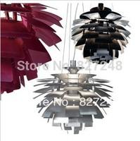 new items product power 110v 220v e27*1 lamp holder aluminum modern chandeliers louis poulsen designer lights for home lighting