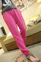 Spring and summer slim all-match multi-color health pants a02  free shipping