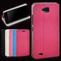 2013 Gift Stand Flip PU Leather Cover For Fly IQ446 case for Gionee GN708W Elegance 2 MT6589 Case + Free Screen Protector
