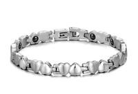 Free Shipping women power balance bracelets titanium bracelets