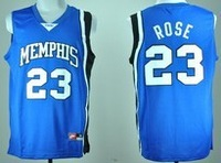 Memphis Tigers Derrick Rose #23 College Basketball Jersey