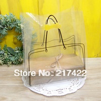 New Fashion Transparent Packaging Shopping Bag Take-away Bag