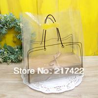 New Fashion Transparent Packaging Shopping Bag Take-away Bag