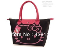 Promotions! Hello Kitty Bag KT bag wholesale Hand Bags shopping bag tote Designer Waterproof Shoulder Bag/FREE SHIPPING