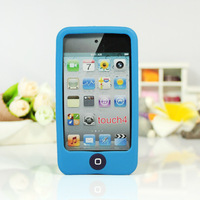 For iPod Touch 4 4G 4th Gen Soft Gel Silicone Back Case Cover Skin Pouch