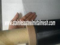 Stainless Steel Blackened EMI Shielding Mesh  250Mesh 0.03MM