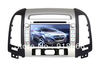 In Dash Car GPS Navigation for Hyundai Santa Fe 2006-2012  with Multi-point Touch Screen, Radio, DVD, Bluetooth,TV,3G,WIFI