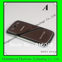 Free shipping back cover assembly for iphone 4s back housing, ,Brown color 4S drawing back housing with high quality