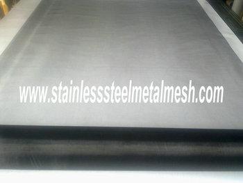 Stainless Steel Blackened EMI Shielding Mesh  165Mesh 0.04MM