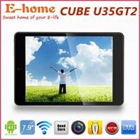 Cube U35GT2 U35GT pad 7.9 inch Quad Core tablet pc RK3188 1.8Ghz Android 4.1 IPS 1024x768 pixels WIFI OTG HDMI